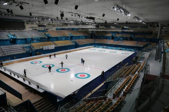 Le Centre de curling de Gangneung accueillera les épreuves de curling.