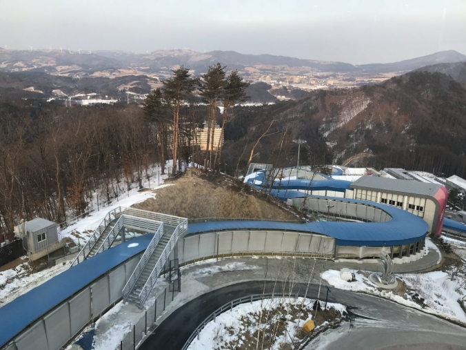 Le Centre de glisse d'Alpensia accueillera les épreuves de bobsleigh, de luge et de skeleton.