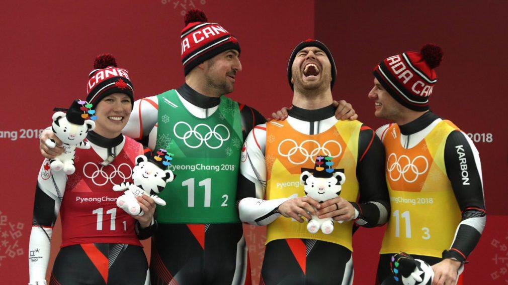 Une médaille d'argent aux accents rédempteurs pour le relais canadien de luge