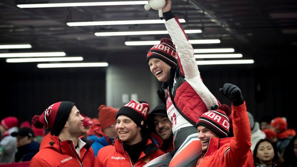 Équipe Canada - Alex Gough - PyeongChang 2018