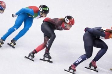 Kim Boutin en action lors de la finale du 1000 m. (COC-David Jackson)