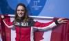 En photos: Les Jeux olympiques de la porte-drapeau Kim Boutin