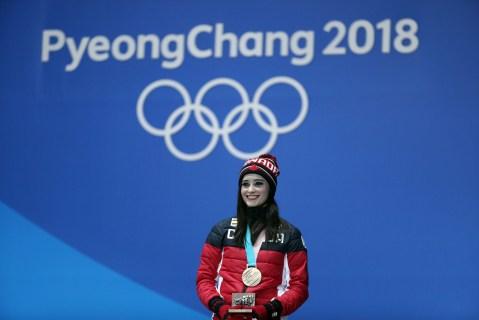 Kaetlyn Osmond obtient le bronze en patinage artistique. LA PRESSE CANADIENNE/HO - COC Ð David Jackson