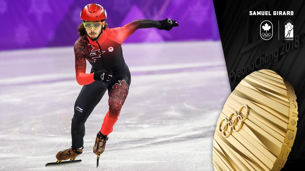 Samuel Girard - Médaille d'or - PyeongChang 2018 - Équipe Canada