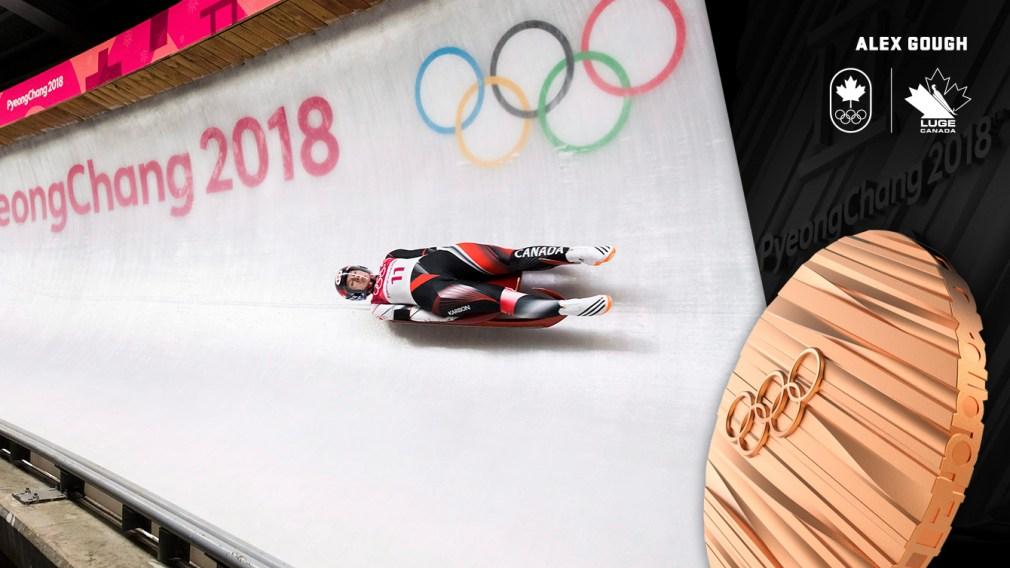 Alex Gough - Médaille de bronze - PyeongChang 2018 - Équipe Canada