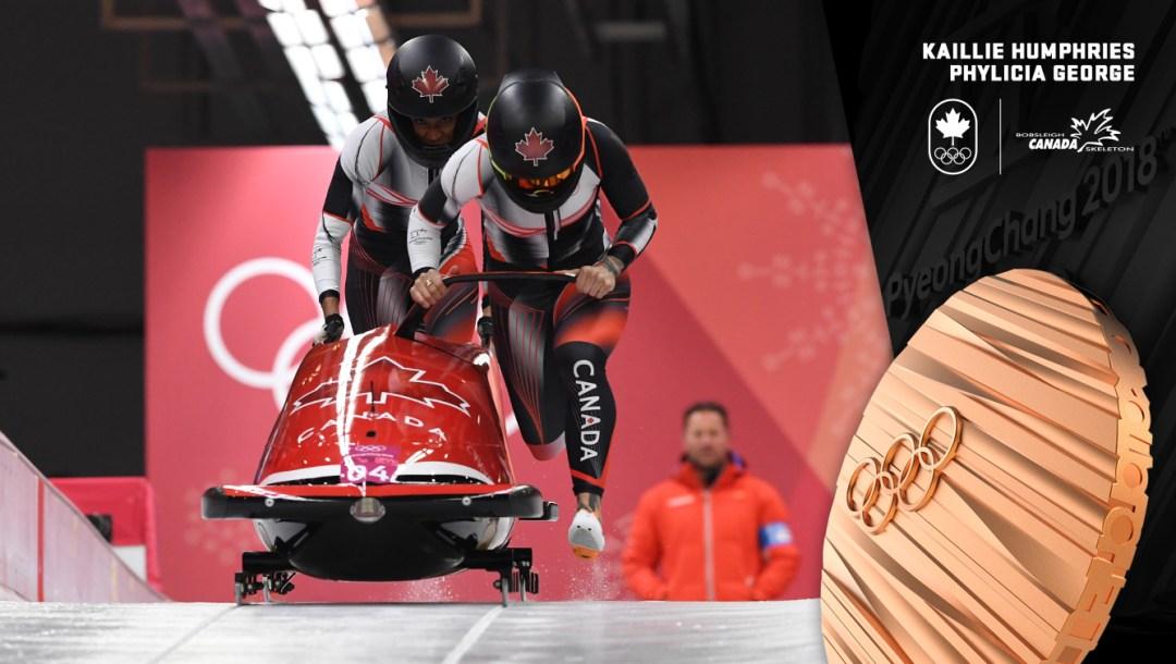 Médaille de bronze pour Humphries - PyeongChang 2018 - Équipe Canada