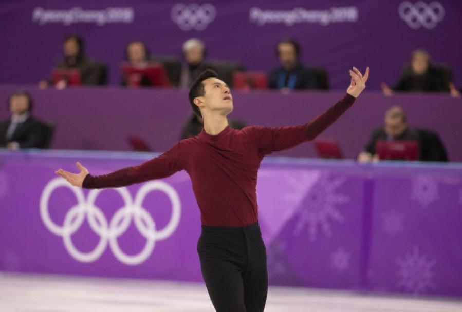 Patrick Chan a livré une performance émotive pour ses derniers Jeux olympiques, lors de la finale en patinage artistique. LA PRESSE CANADIENNE/HO - COC – Jason Ransom