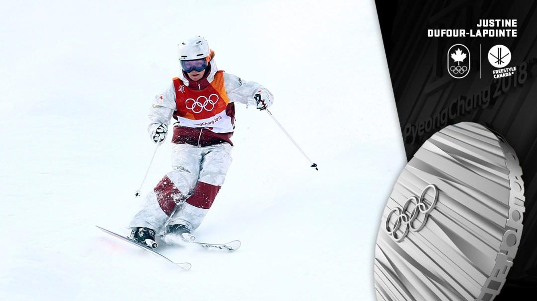 Justine Dufour-Lapointe - Médaille d'argent - PyeongChang 2018 - Équipe Canada