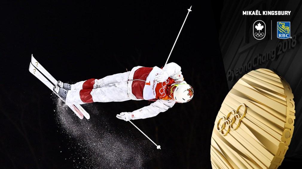 Mikaël Kingsbury - Médaille d'or - PyeongChang 2018 - Équipe Canada