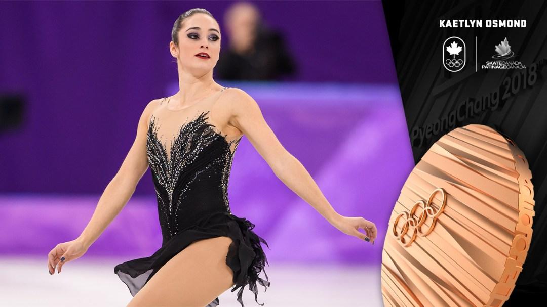Kaetlyn Osmond - PyeongChang 2018 - Médaille