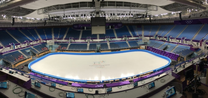 Il sera le site de compétition pour les épreuves de patinage artistique et de patinage de vitesse sur courte piste.