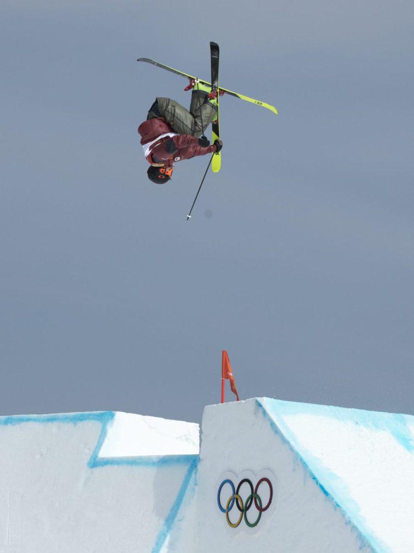 Beaulieu-Marchand en action à la finale de slopestyle. (Photo/ David Jackson)