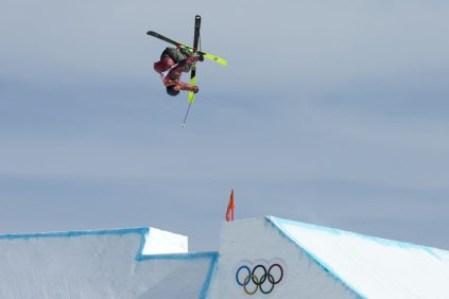 Alex Beaulieu-Marchand a gagné la première médaille de l'histoire du Canada en ski slopestyle.(Photo/David Jackson)