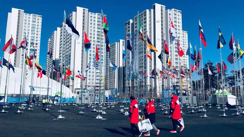 Équipe Canada - Village olympique