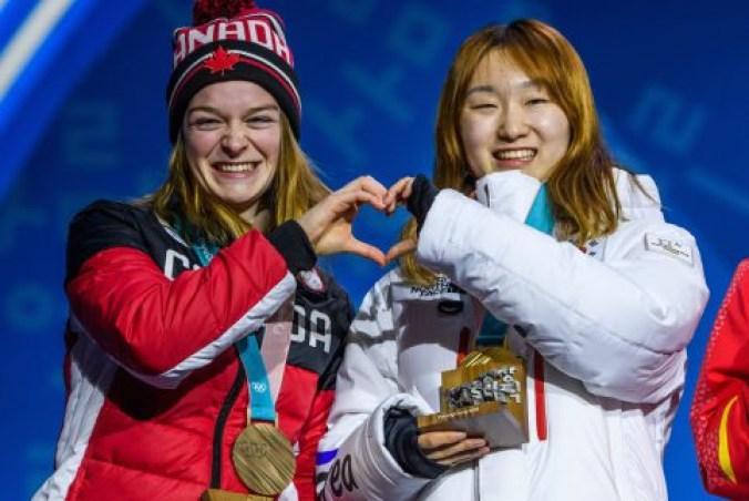 Kim Boutin a reçu le bronze au 1500 m. (Photo par Vincent Ethier/COC)