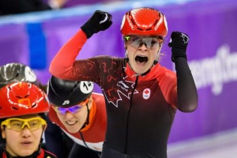 Kim Boutin s'empare du bronze au 1500 m. (Photo par Vincent Ethier/COC)