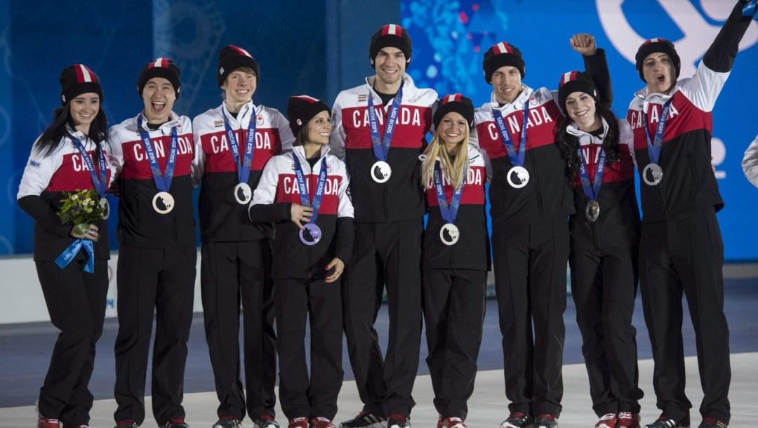 Équipe Canada - Patinage artistique - Sotchi 2014