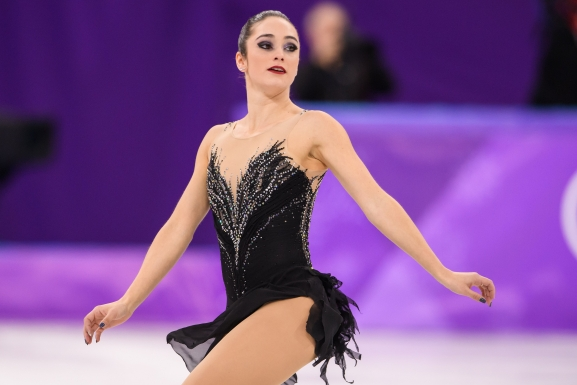 PYEONGCHANG, CORÉE DU SUD - 23 FÉVRIER: Kaetlyn Osmond en action durant la finale de patinage artistique (Photo par Vincent Ethier/COC)