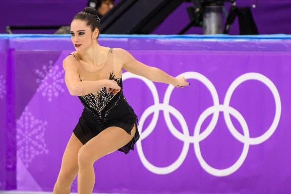 Kaetlyn Osmond patine durant la finale de patinage artistique à PyeongChang 2018. (Photo: Vincent Ethier/COC)