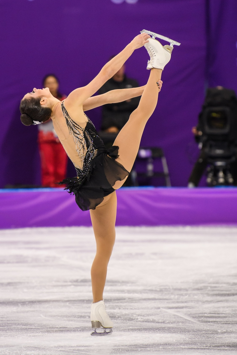 PYEONGCHANG, CORÉE DU SUD - 23 FÉVRIER: Kaetlyn Osmond en action lors de la finale. (Photo par Vincent Ethier/COC)
