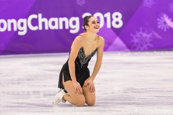 Kaetlyn Osmond termine en troisième place en finale de patinage artistique à PyeongChang 2018. (Photo: Vincent Ethier/COC)