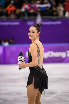 PYEONGCHANG, CORÉE DU SUD - 23 FÉVRIER: Kaetlyn Osmond remporte sa deuxième médaille des Jeux de PyeongChang.(Photo par Vincent Ethier/COC)