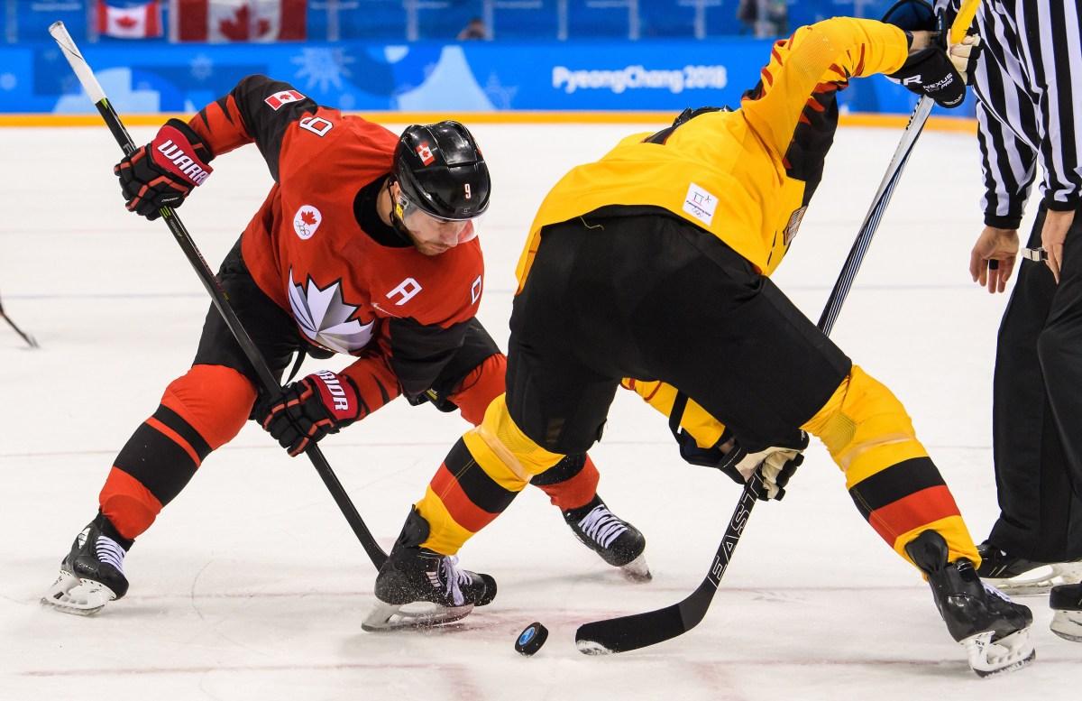 Equipe Canada-hockey sur glace-derek roy-pyeongchang 2018