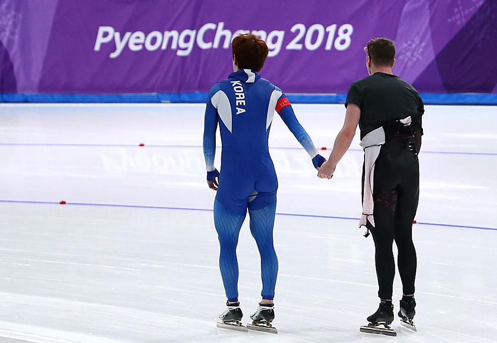 Equipe Canada-Patinage de vitesse sur longue piste-Alexandre st-jean-pyeongchang 2018