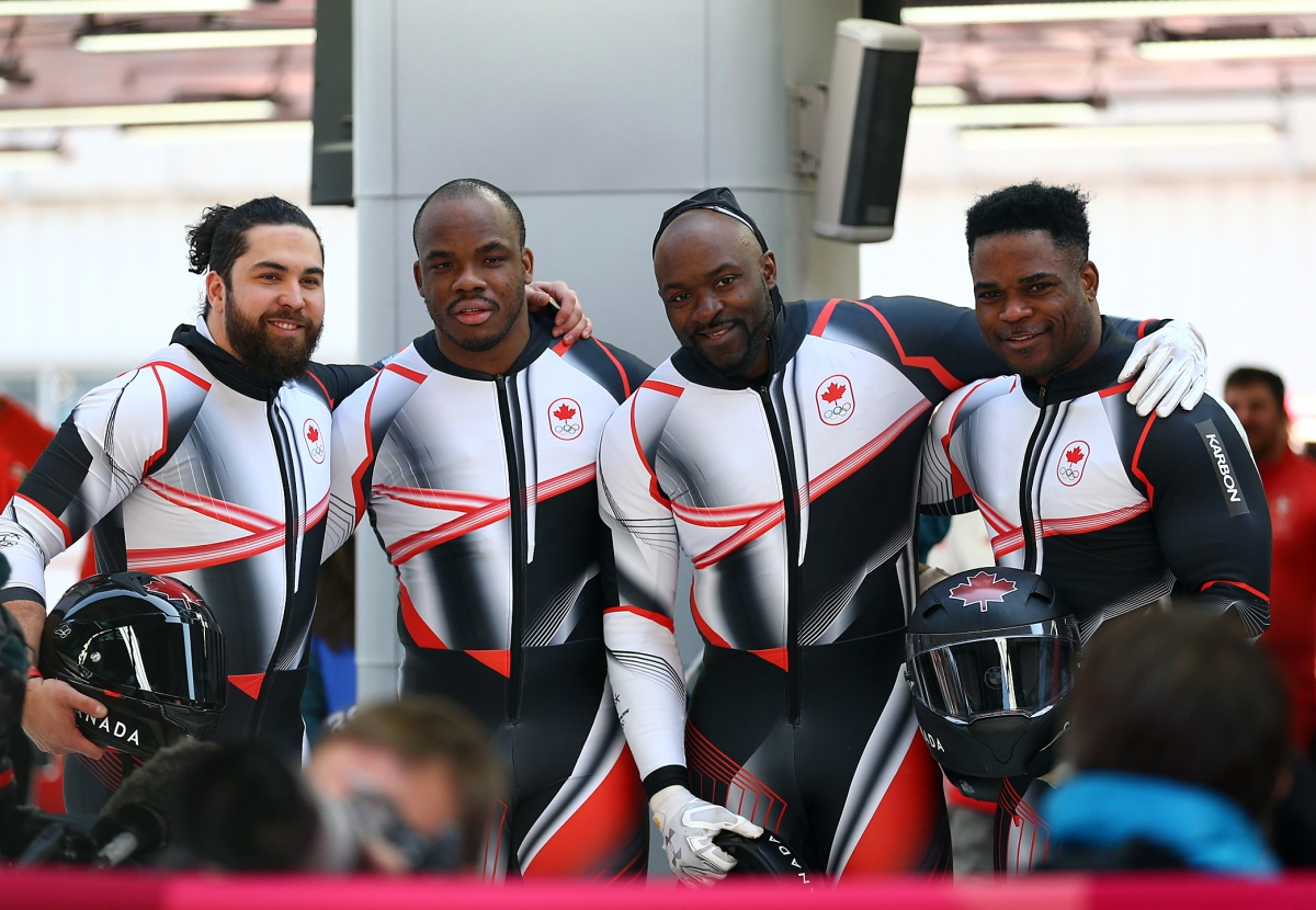 Equipe Canada-Christopher Spring-Lascelles Brown-Bryan Barnett-Neville Wright-Pyeongchang 2018