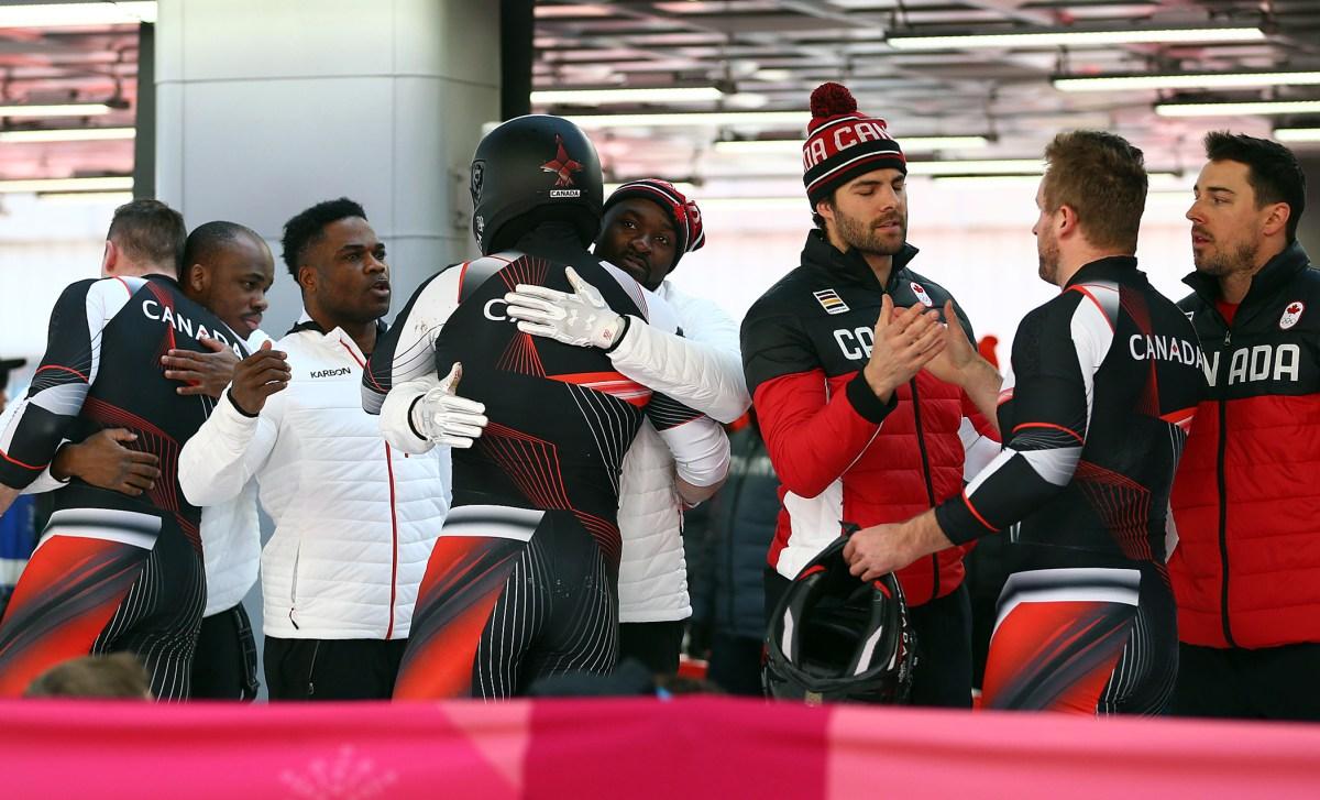 Equipe Canada-Bobsleigh-Pyeongchang 2018