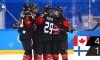 Équipe Canada signe sa deuxième victoire en ronde préliminaire du tournoi de hockey féminin