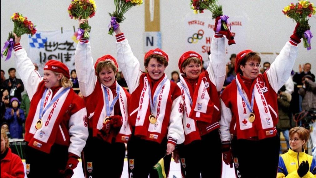 Équipe canada aux Jeux olympiques de Nagano