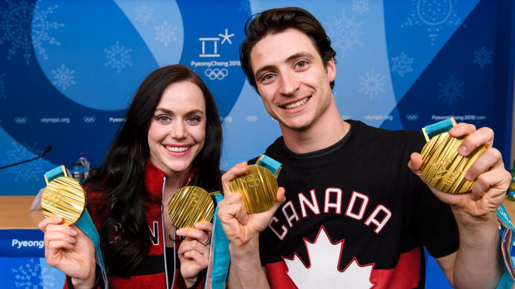 Équipe Canada - Tessa Virtue et Scott Moir