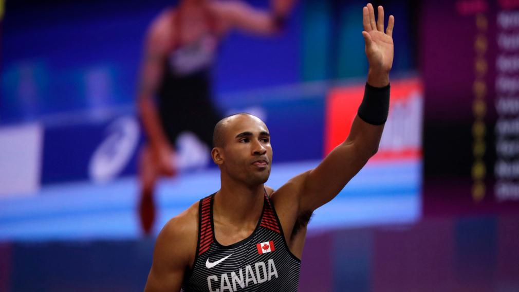 Damian Warner décroche l'argent en heptathlon aux Championnats du monde d'athlétisme en salle et établit un record canadien