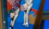 Benfeito et Riendeau en bronze au 10 m synchro mixte