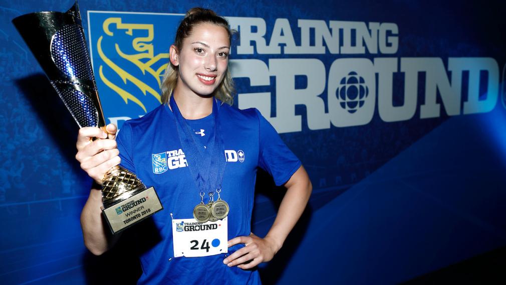 Le Camp des Recrues RBC couronne la championne de l'Ontario