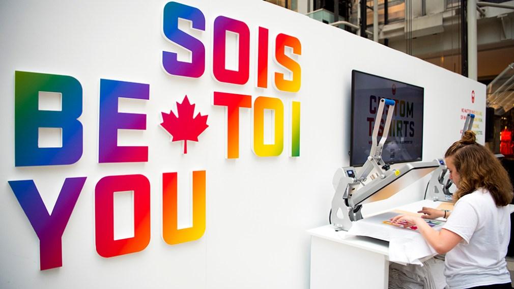 Équipe Canada ouvrira une boutique temporaire «Sois Toi» en appui à You Can Play