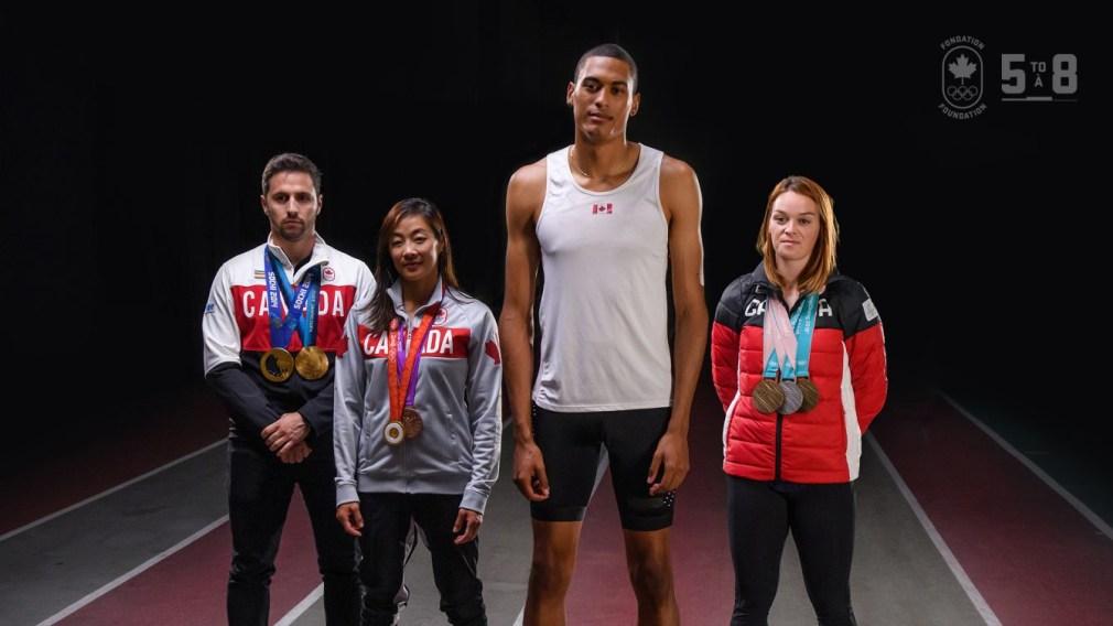 La Fondation olympique canadienne lance la campagne 5à8 avec un don historique de la famille de David et Ruth Asper