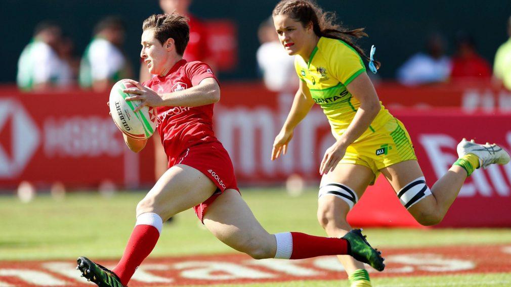 Équipe Canada en argent à la Série mondiale de rugby à sept