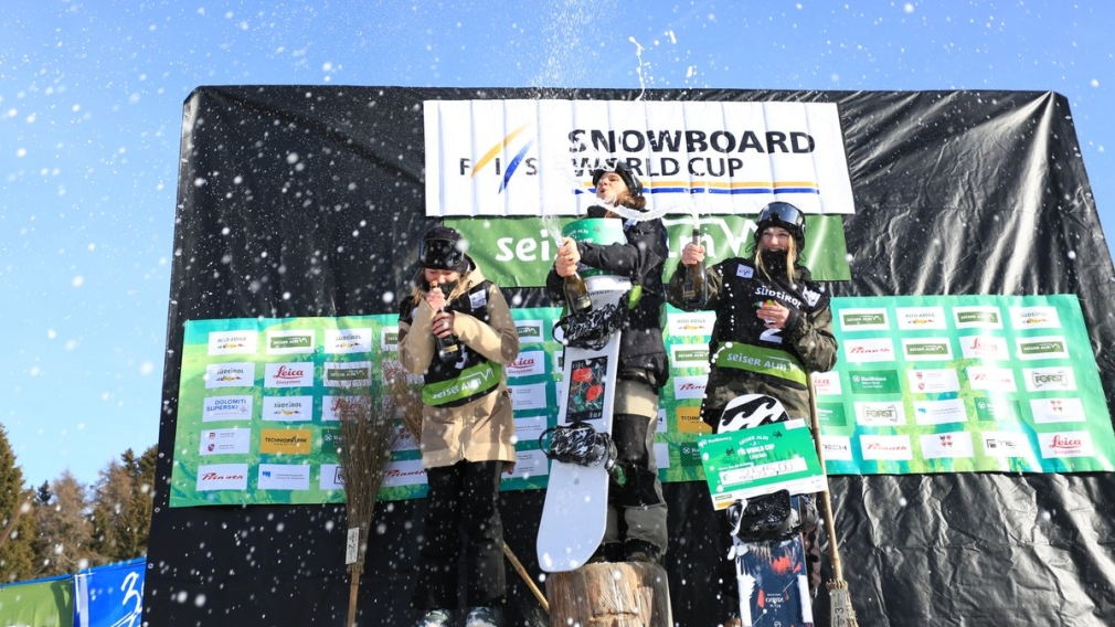 Voigt et Baird gagnent l'argent et le bronze en slopestyle à Seiser Alm