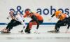 Triplé d'argent à Dresden en patinage de vitesse courte piste
