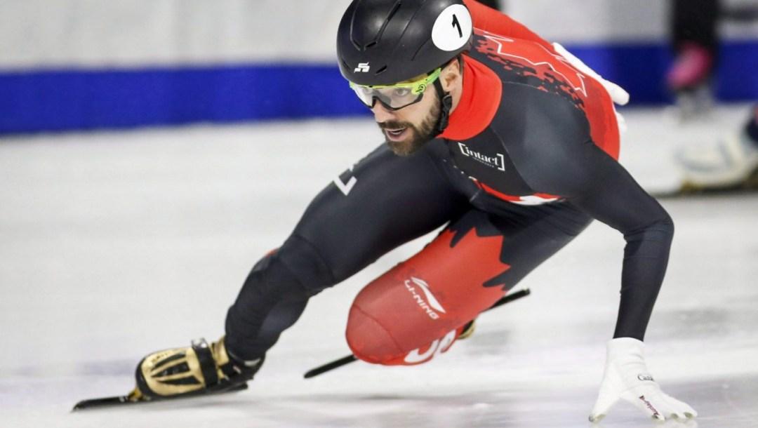 Équipe Canada Charles Hamelin patinage de vitesse sur courte piste 2018