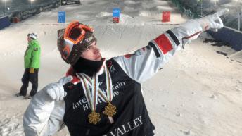 Equipe Canada - ski acrobatique- mikael kingsbury