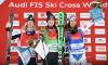 Marielle Thompson et Brady Leman terminent leur saison de ski cross sur le podium