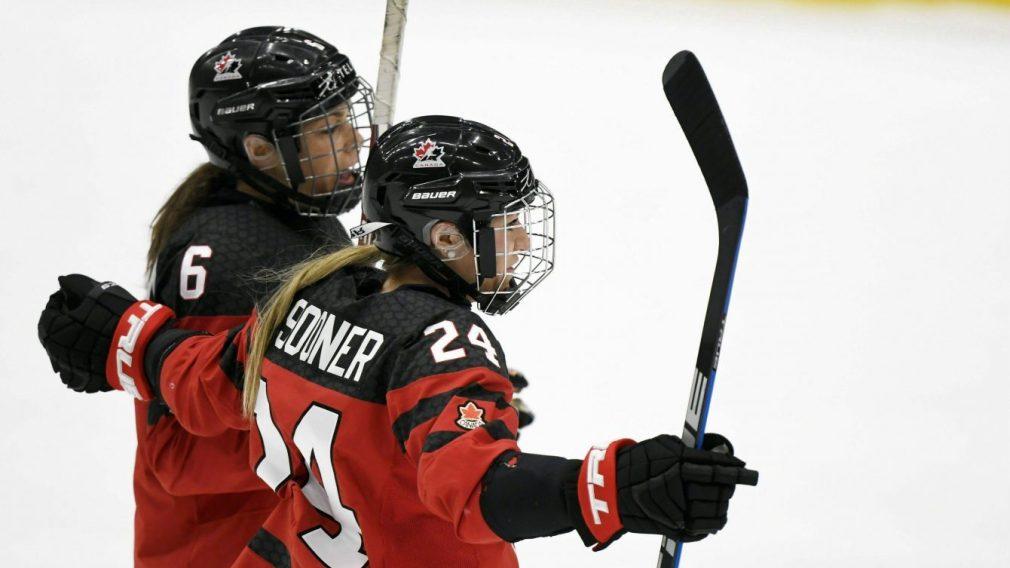 Les Canadiennes remportent le bronze au Mondial de hockey