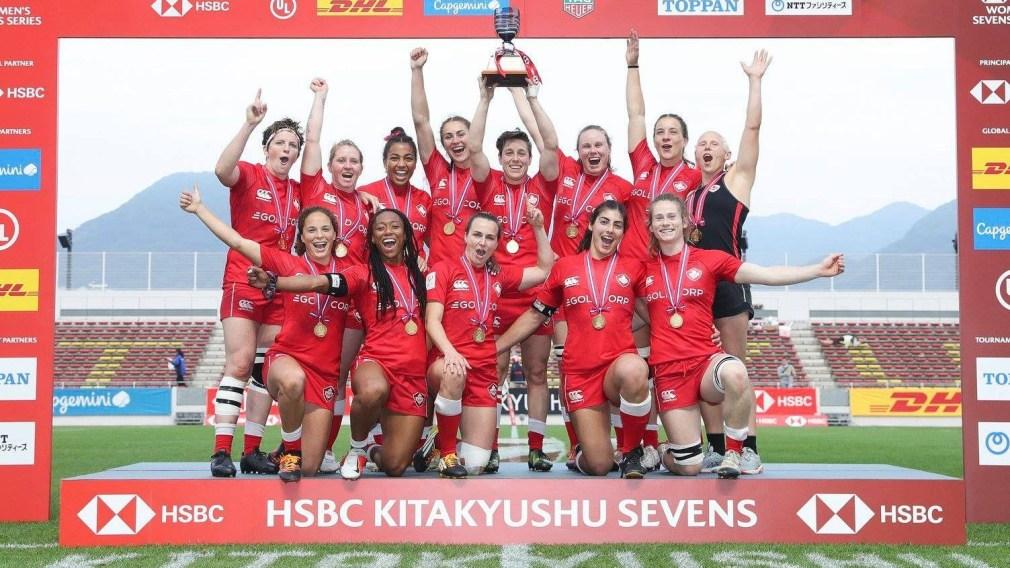 Mise à jour olympique : Les Canadiennes se couvrent d'or en rugby à 7