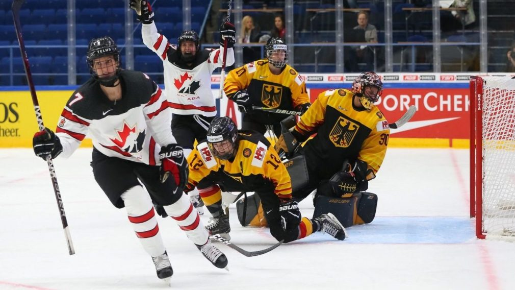 Équipe Canada en route vers les quarts-de-finale au Mondial Féminin