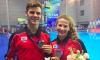 Caeli McKay et Vincent Riendeau en bronze au 10 m synchro mixte