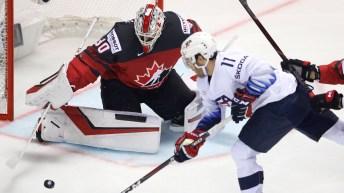 Equipe Canada - mondial hockey - Mark Stone - prolongation - quart de finale - Suisse