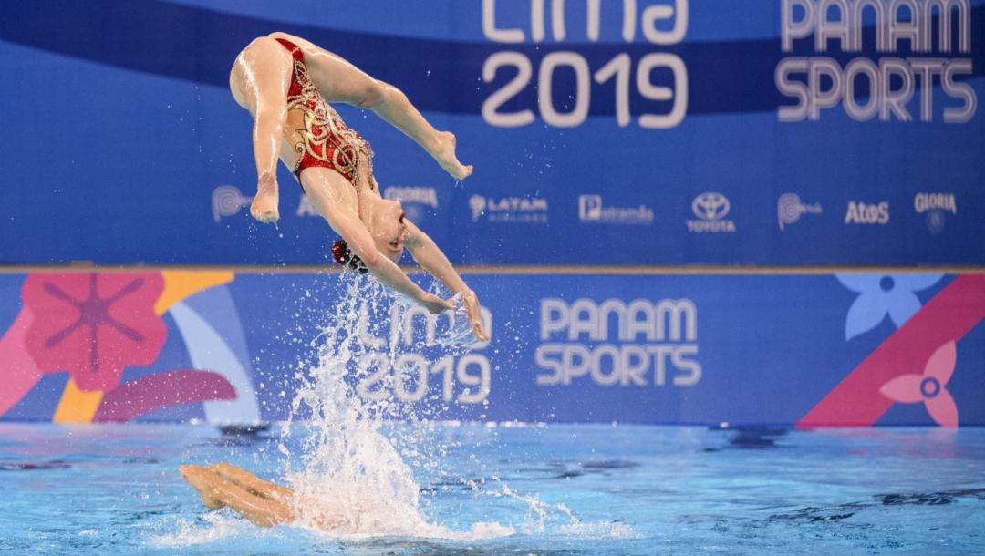 Équipe Canada Emily Armstrong natation artistique Lima 2019